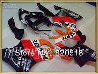 Pre-drilled red orange white black for HONDA CBR600F4i 01 02 03 CBR 600RR F4i 2001 2003 01-03 CBR600 fairing kit + 3gifts e973