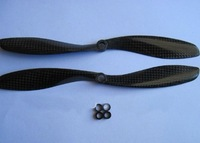 Free shipping High Quality  Promotional price 9047 Carbon fiber CW/CCW propellers for rc airplane