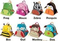 Children bag school cartoon animal backpack Baby Toddler kid's  Schoolbag Shoulder Bag kindergarten bag 11 styles Retail YXQB03