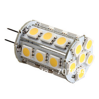 G4 24x5050 SMD Warm White Light LEB Bulb for Car Lamps (DC 12V)