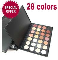 Hot Sale 28 Warm Color Matte Eyeshadows Set Eey MakeUp Drop Shipping   206102