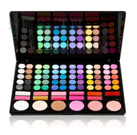 78 Color Shimmer Matte Eye Shadow Palette with Mirror Drop Shipping  206105