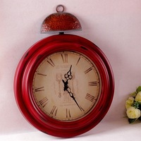 American French Country Do Old Clock, Retro Wall Clock