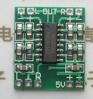 Super mini digital power amplifier board 2*3 w D Digital power amplifier board 2.5 to 5 v USB power supply