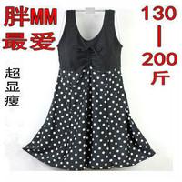 Ultralarge mm plus size plus size swimwear variety style women's one-piece dress swimwear swimsuit hot springs