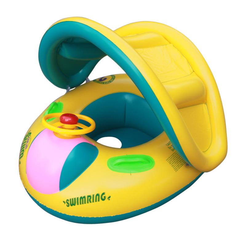 Shipping Inflatable Toddler Baby Swim Ring Float Seat Swimming Pool