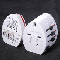 Dual USB World Travel Adapter AC Power Adapter Adaptor Plug Two Usb Charger AC/DC USB Charger