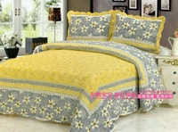 Cool chrysanthemum cotton quilting 100% by cool summer air conditioning is piece set piece set bedding