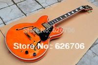 wholesale orange 335 JAZZ Semi Hollow Electric Guitar HOT SALE