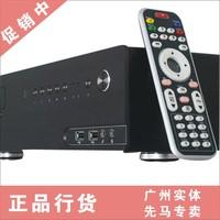 Htpc xianma q1 aluminum alloy horizontal hd computer mini computer case remote control