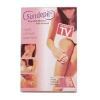 Free shipping 200packs/lot sundepil hair removal pads painless sundepil painless removal of unwanted hairr smooth legs