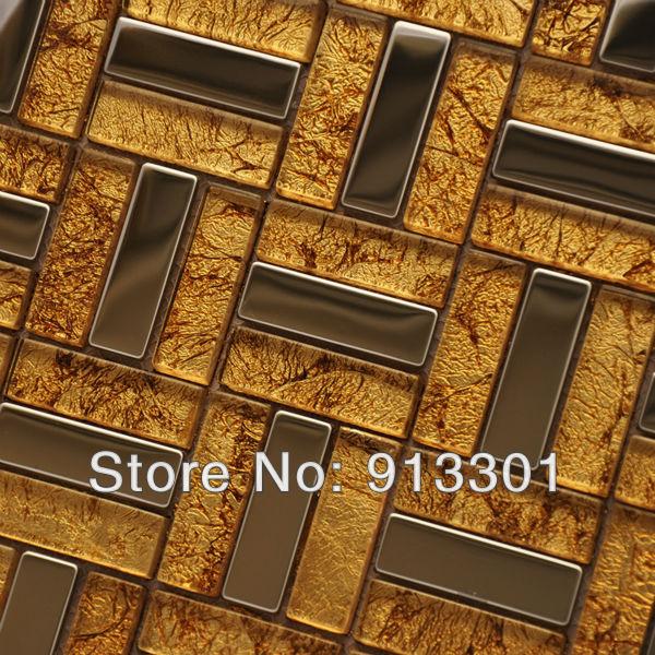 tile backsplash cheap bfmg04 metallic mosaic tiles in mosaics from