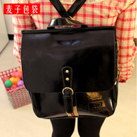Minnith bag 2013 vintage backpack casual PU large school bag women's handbag d560