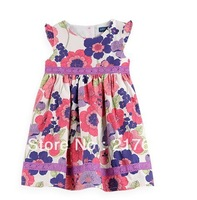 2013 new z* COTTON DRESSES for baby girls Children's clothing 5pcs lot cheap FREE SHIPPING