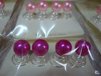 Special wholesale hair jewelry pearl spiral folder 1100pcs/lots variety of color choices