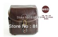 Free Shipping vintage British sytle SLRs pu leather camera bag/shoulder bag/ camera pouch