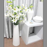 Ceramic floor vase modern brief boughed fashion home accessories housewarming gift