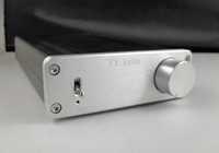 Free shipping--High power TDA7498E Class D HiFi Stereo Amplifier 160W*2 Silver+36V Power Supply