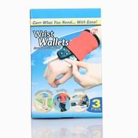 Wrist wallets multifunctional gloves wallet gloves multi purpose gloves sports gloves
