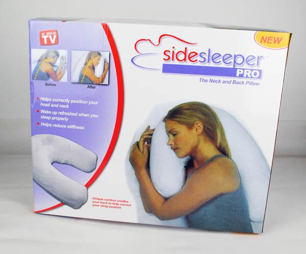 Side sleeper pro pillow side sleep pillow waist support pillow(China (Mainland))