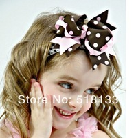 New Arrival Baby Girls Large Bow Headbands,Boutique Hair Bands,Infant Toddler Kids Hair Bows Accessories,50pcs/lot Free Shipping