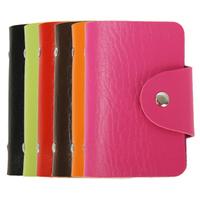 2013 leather bank card bag credit card bag male card holder women's card holder