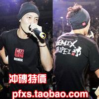 Free shipping 2012 spring and summer clot remix x male bboy short-sleeve T-shirt class service