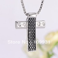 100% Genuine Sterling Silver 925 Women cross  necklace pendants