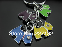 cute schnauzer puppy dog wholesale handbag key chain Gift men women lovers valentine gift souvenir keychain children classical