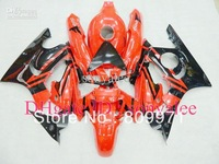 orange black fairings for HONDA CBR600F3 95-96 CBR600 F3 1995 1996 CBR 600 F3 95 96 1995-1996 ABS fairing kit