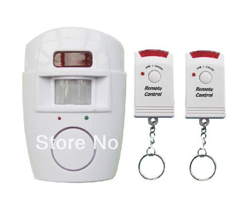 P105 ir sans fil détecteur de mouvement infrarouge détecteur de sécurité à domicile système d'alarme à distance