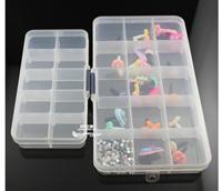 15 storage box 180x100mm transparent plastic box diy tool diy handmade w005
