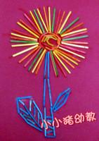 Handmade materials multicolour matches stick ribband matches stick matches multicolour small sticks scytale model tool