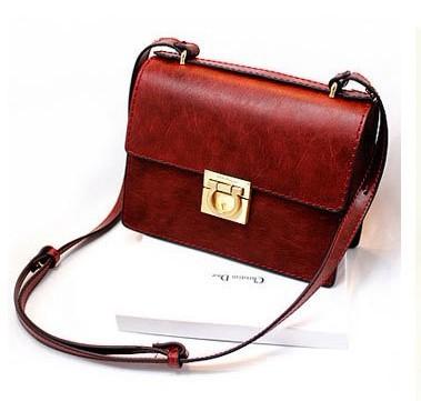 Brief fashion large hardware flip vintage bag ice cream bag handbag messenger bag