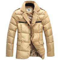 S---XXXXXL 2013 winter NEW high quality 90% White duck down Ski suit Brand fashion big size men's down jacket coat