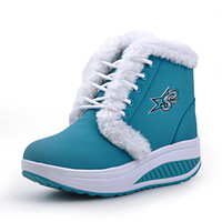 Free shipping 2013 Boots platform swing shoes autumn and winter female shoes thermal snow boots plush shoes
