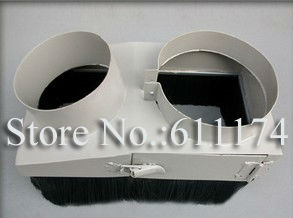 CNC Router Accessories Dust collector Cover wood cnc spindle motor dust collector device D125mm