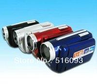 "Free Shipping Mini 1.8"" LCD TFT 4xZoom 12MP Digital Video Camcorder Camera DV Camera Cam DV139"
