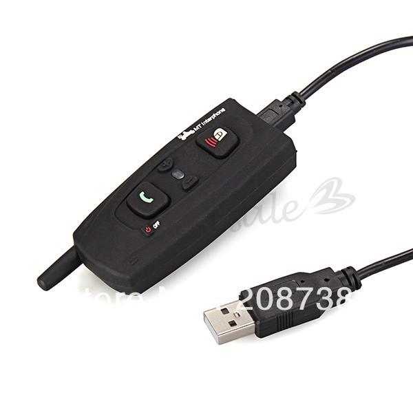 BT Bluetooth Wireless Motorcycle Motorbike Helmet Interphone Intercom Headset(China (Mainland))