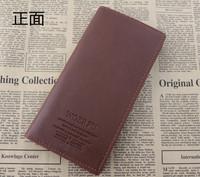 Genuine Leather Men's Purse Card Holders Long-Length Wallets Men's Clutch BagsFor Men Free Shipping !