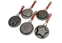 Free shipping 100pcs/lot Mini Pan Heart Shaped Egg Fry Frying Pan, Cook pan ,Non-Stick without pot cover
