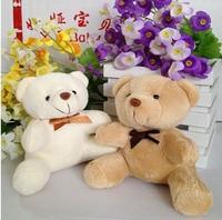 Wholesale 10pcs/lot 10cm 2color Bear Gift Plush Toys Doll Birthday Wedding Gift Phone Charm Big Order Big Discount