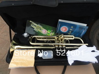 The xinghai XT-120 surface paint gold small b instrument for beginners Bb trumpet