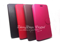 Free Shipping (20pcs/lot)Top Quality Series leather case for Lenovo K860 K860i case cover class design