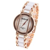 Wholesale Free Shipping Bariho Quartz Watches Round Dial Steel Band for Men