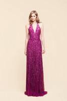 Shining New Arriva Halter Sequins Women's Evening Dress (EVFA-1140)