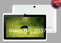 7inch dual core  A5 imapx15  dual  camera  512M 4G 10pcs/lot Free shipping china post