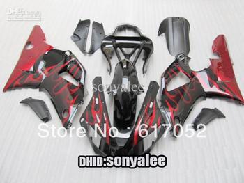 YZF R1 00-01 YZF-R1 YZFR1 YZF 1000 YZF1000 00 01 2000 2001 red & black motorcycle fairing kit + gift