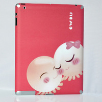 For apple   ipad2 multicolour stickers protector nomo scrub quality sweet