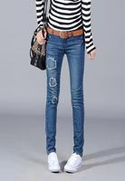 809 New Arrival 7 Styles Denim Jeans Ladies Skinny Leggings Pencil Pants Slim Elastic Stretch
